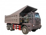 70 Tons Sinotruk Mining Tipper Truck HOWO 6X4 Mining Dump Truck Made in China