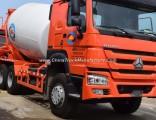 Sinotruk HOWO 6X4 10 Wheeler 6m3 8m3 10m3 Concrete Mixer Truck
