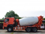 HOWO 6X4 Cement Truck 6m3 Concrete Mixer Truck