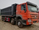 China Produces 15 Tons of HOWO 8X4 Dump Truck 371HP for Sale