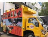 Foton Euro 2 Food Cart Mobile Food Truck Food Truck for Sale