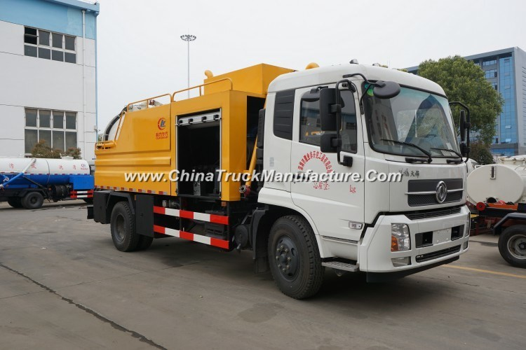 Customized High Quality HOWO 6*4 Conbined Suction&Jetting Truck From Factory