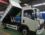 China Low Price 15 Cubic Meter Dump Truck HOWO4X2 Tipper Truck Price for Sale