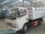 Dafc Small 5ton Dumper Truck 4X4 Tipper Trucks for Sale