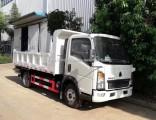 Sinotruck HOWO Light Duty 4X2 Tipper / Dumper / Dump Truck 120HP Non Used Mini Cargo Truck