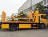 10 Tons Two Layer Platform Flatbed Wrecker Tow Truck for Sale