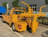 Jmc Pickup 4*2 Euro 5 Emission Mini Light Duty Double Cabin 3t 3000kg Car Towing Underground Garage