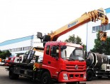 10 Tons Flat Bed Recovery Wreckers Wheel Lift Tow Truck