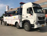 China 30 Ton Wrecker Towing Rotator Recovery Emergency Tow Vehicle Truck for Sale