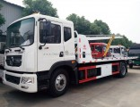 China 10 Ton Wrecker Tow Truck Towing Platform Trucks for Sale