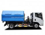 Yuejin 4X2 Naveco 7 Cbm 8 Ton Detachable Container Type Garbage Truck