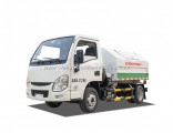1.5 Ton 5 Cbm 87 HP Garbage Truck with Detachable Container