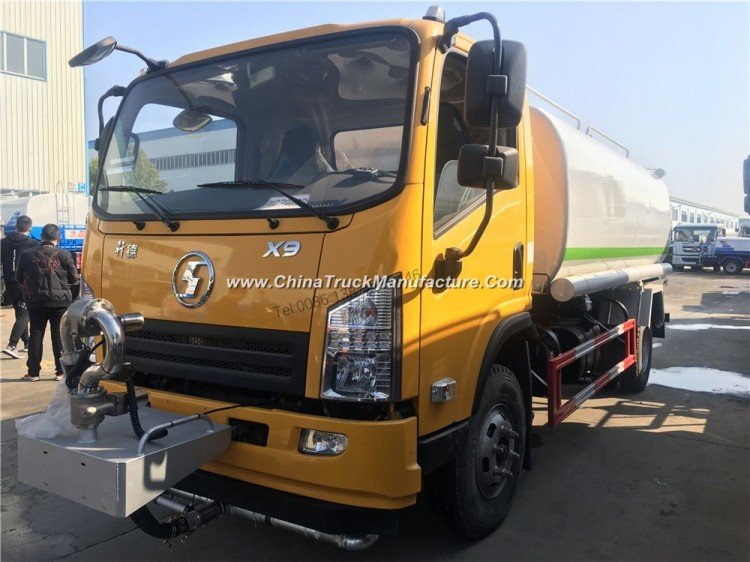 Shacman Light 5000liters 6000liters Water Tank Truck for Sale