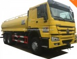 HOWO 6X4 and 6X6 25000liters Water Tank Truck Price