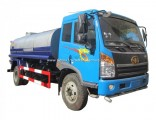 FAW 4X2 Type 10000 Liter Water Truck with Insulating Layer