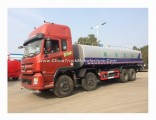Dongfeng 8X4 Left /Right Hand Drive 12 Wheel 25000L - 30000L Water Tank Truck