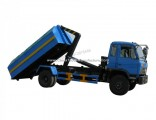 Dongfeng 145 153 Type Cummins 190HP 170HP Right Hand Drive 10m3 12m3 Hook Arm Garbage Truck Containe