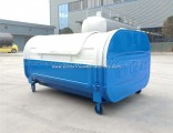 Low Price Discount Sale 1000L 2000L 3000L Carbon Steel Hook Lifting Garbage Bin Outdoor Dustbin