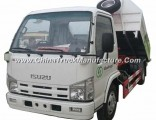 Good Quality Isuzu 100p Left Hand Drive Small Skip Loader Garbage Truck 4tons