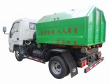 Foton Forland Hook Lift Container Mini 3tons Side Loader Garbage Truck