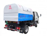Foton Diesel Engine 3cbm Small Waste Disposal and Transfer Detachable Lift Garbage Truck