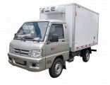 Foton 7cbm 4X2 Gasoline Fresh Vegetables and Fruits Delivery Mini Refrigerated Trucks Cold Room Truc