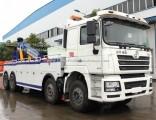 Shacman 8X4 60 Ton Rotator Tow Truck Heavy Duty Under Lift Wrecker