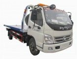 Foton Aoling Flat Bed 3mt 4mt Towing Wrecker Truck in South America