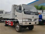 Dongfeng 4X4 Mini Dump Truck 4WD Tipper Truck for Sale