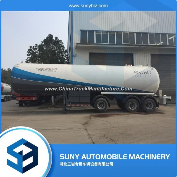 3 Axles 58500 Liters LPG Tank Trailer for Sale