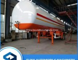 Factory Direct 40500L 17 Tons 2 Axel LPG Tank Truck Trailer for Sale