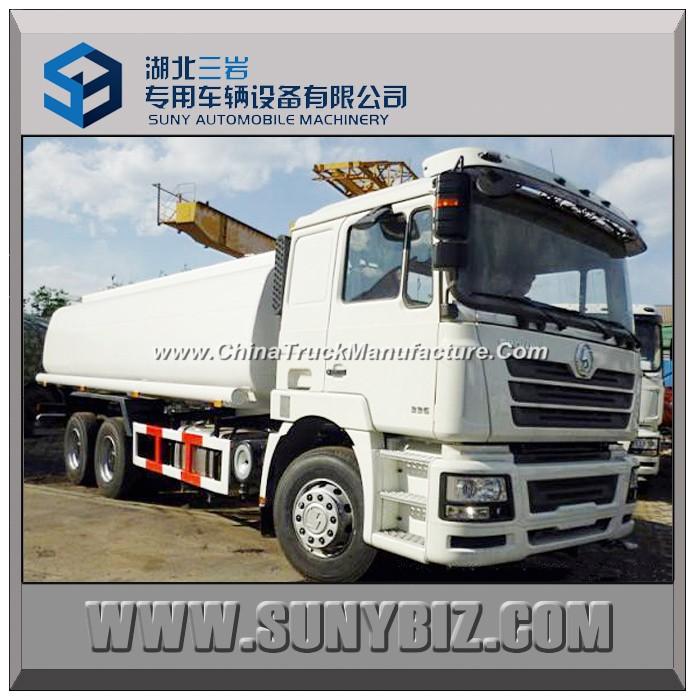 20 Cubic Shacman D`Long F3000 6X4 Water Tank Truck