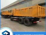 Ethiopia Used New Dongfeng 6X4 16-20 Cubic Meter 10 Wheel Tipper Truck