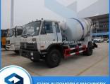 Dongfeng 5000 Liters 6 Wheeler Transit Concrete Mixer Tank Truck