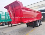 China Manufacture Good Quality 3 Axle 35cbm Dumper Semi Trailer