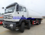 China Cheapest Price North Benz Beiben 8X4 Fuel Tank Tanker Truck 20cbm for Sale