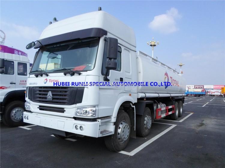 China Best Price Cnhtc HOWO 8X4 Fuel Tank Tanker Truck 30000L