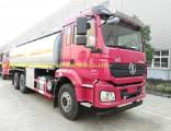 China Best Price Shacman M3000 6X4 Fuel Tank Tanker Truck