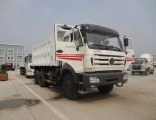 Beiben 6X4 340HP 20 Tons Heavy Duty Middle Lifting Tipper Truck