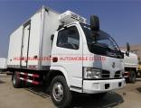 China DFAC Refrigerated Refrigerating Refrigeration Van Box Truck