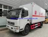 China Dongfeng Gunpowder Explosive Transport Van Box Vehicle Truck