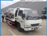 Chinese Factory Supplied Jmc 4X2 2 to 3 Ton Small Wrecker Tow Truck for Sale with Low Price