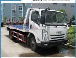 Good Quality Jmc 4X2 4 Ton Half Landing Type Tow Truck Wrecker Good Price for Sale
