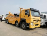 HOWO 8X4 Heavy Duty 25 Ton Tow Truck for Sale with Factory Price