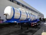 3 Axle 20cbm Sulfuric Acid Tank Semi-Trailer
