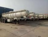 Sulphuric Acid Tank Semi-Trailer Export to Zambia