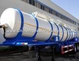 3 Axle 22cbm Sulfuric Acid Tank Semi-Trailer