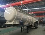3 Axle 19 Cbm Sulfuric Acid Tank Semi-Trailer