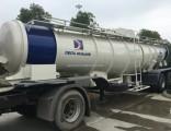 19 Cbm Sulfuric Acid Tank Semi-Trailer