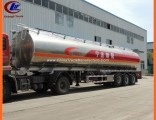 Allumium 30ton Drinking Water Tank Trailer with Stainless Steel Valve